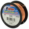 American Fishing Wire Surfstrand 1x7 Copper Trolling Wire